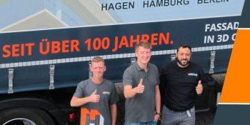 // Der neue Henke AG Truck: